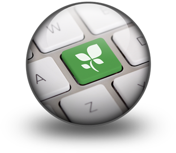 بازاریابی سبز - green marketing - کیبورد سبز