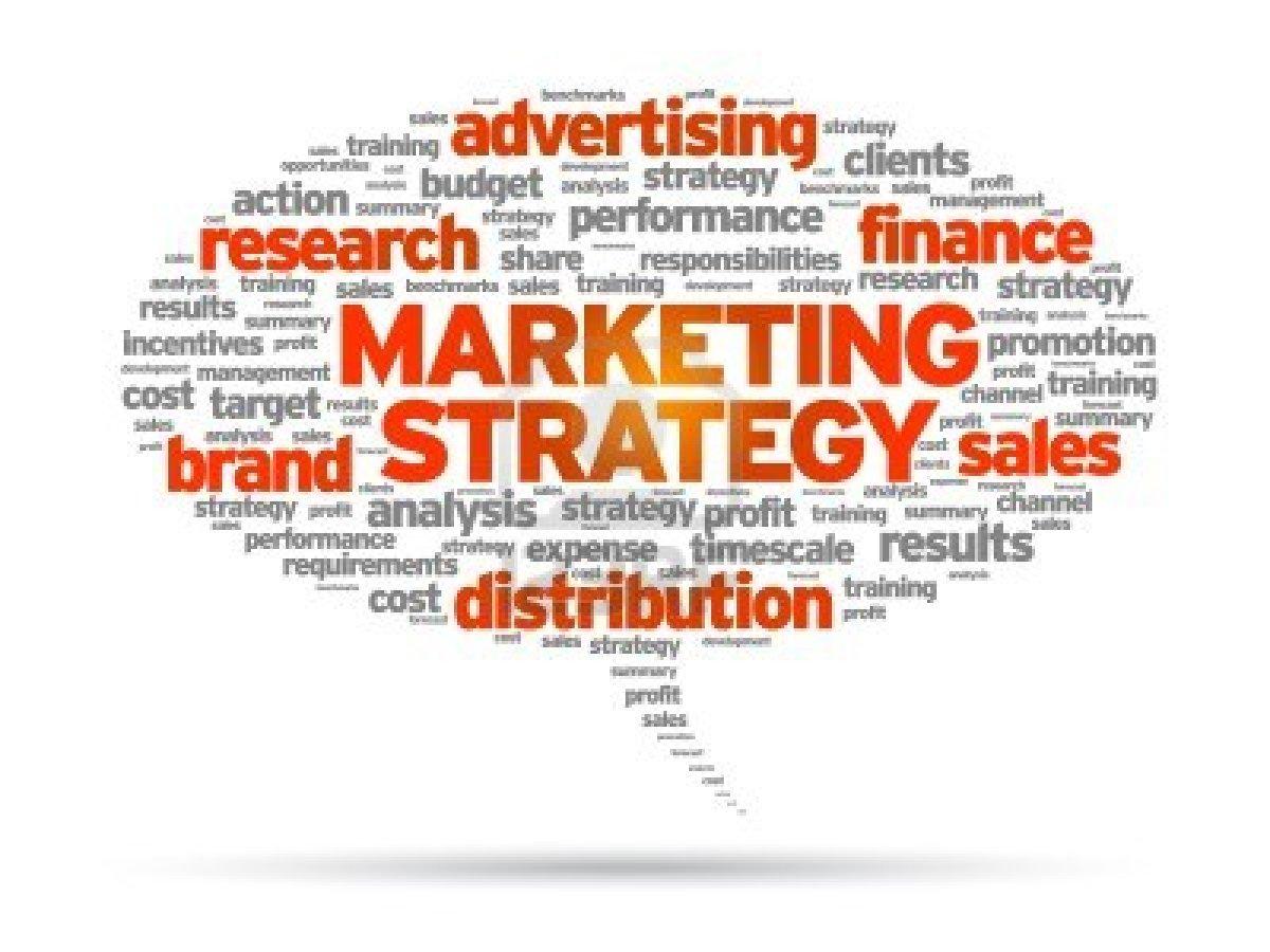 برنامه استراتژی بازاریابی - برنامه فروش - نمایش فروش