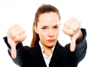 نارضایتی مشتری - مشتری ناراضی