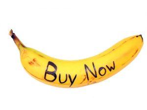 انگیزه خرید مشتریان - موز گرافیکی